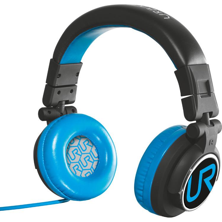 UR Rimix koptelefoon - Zwart/Blauw