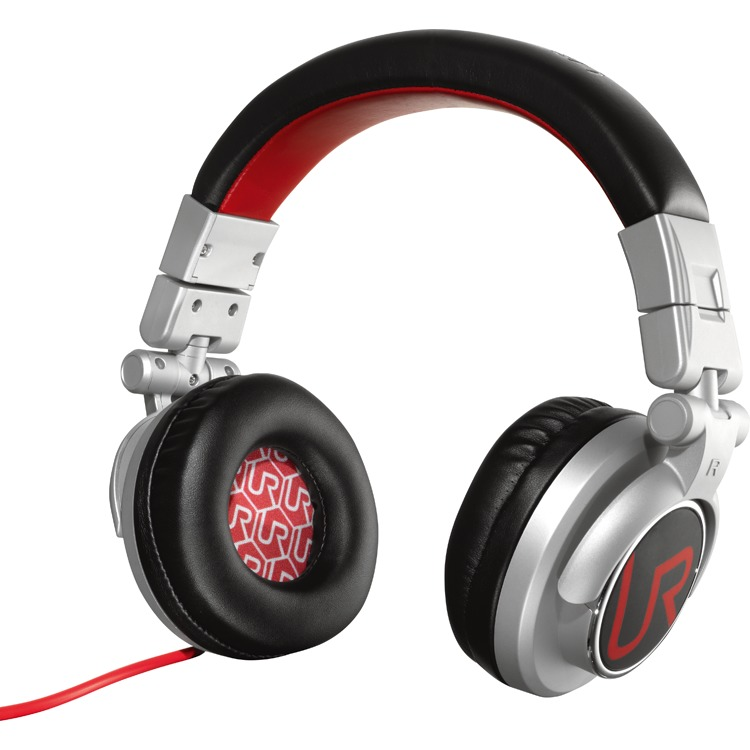 UR Rimix koptelefoon - Grijs/red