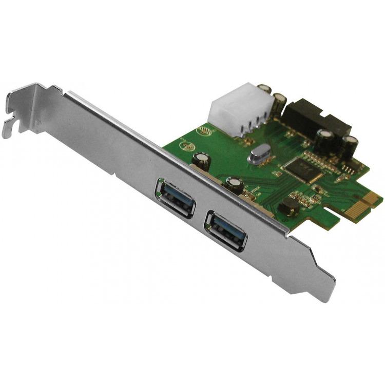 EW1039 USB 3.0 PCI-E KAART 2 PORT