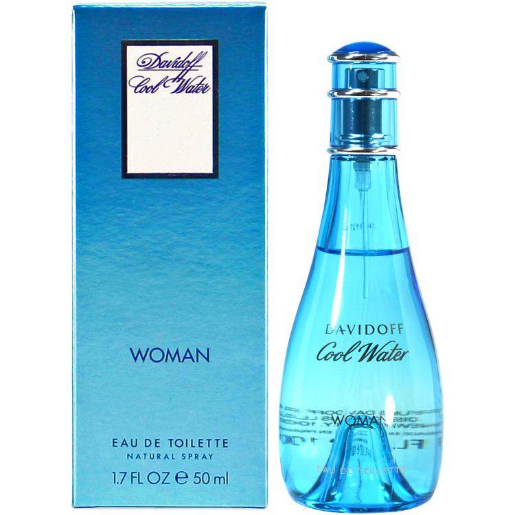 Image of Cool Water Woman Eau De Toilette, 50 Ml