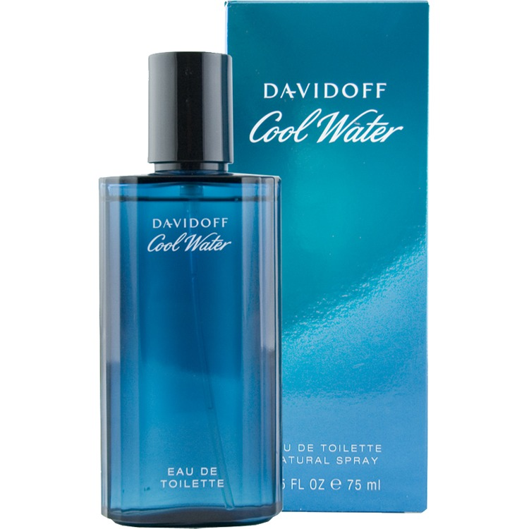 Davidoff Cool Water Homme Eau De Toilette Natural Spray 75ml