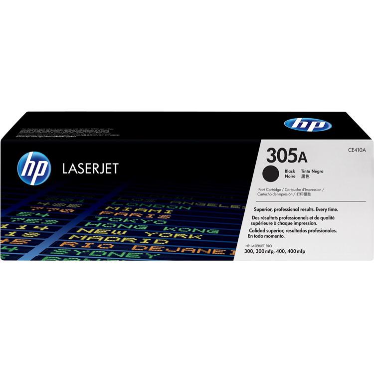 HP 305A Black LaserJet Toner (zwart)