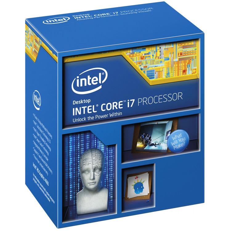 Intel® Core™ i7 i7-4790K Quad Core 4 x 4.0 GHz Processor (CPU) boxed Socket: Intel 1150