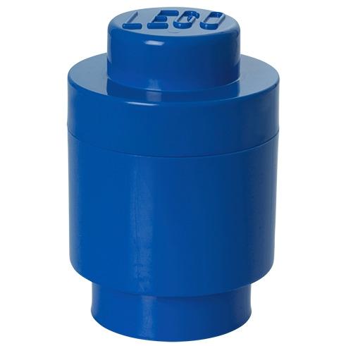 Lego Opbergbox - Brick 1 - Rond - Blauw