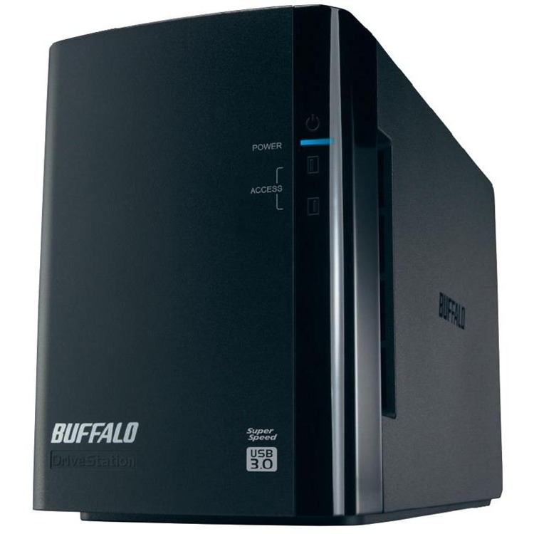 Image of 4TB DriveStation Duo 2x2 R0/1 U3