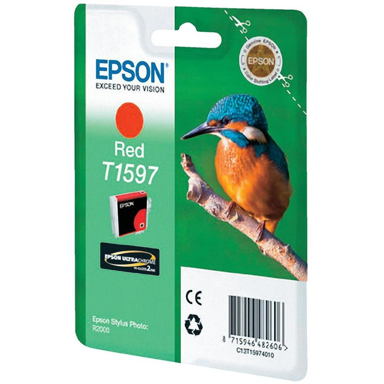Epson T1597 - Inktcartridge / Rood