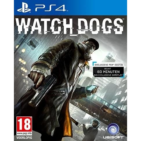 PS4 Game Watch Dogs
