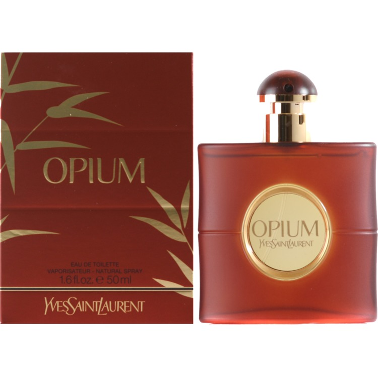Yves Saint Laurent Opium Eau De Toilette Spray Vrouw 50ml