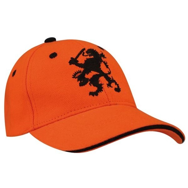 Baseballcap - World Triumph - Junior - Oranje