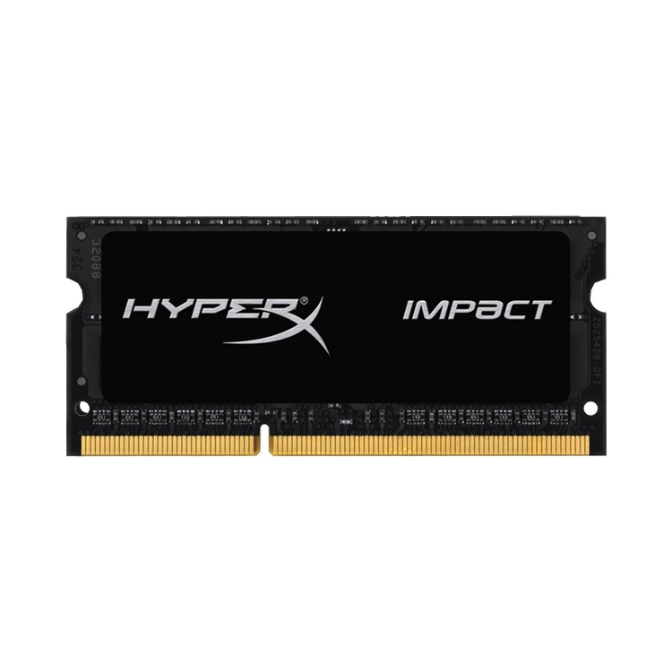 4GB 1600MHz DDR3L CL9 SODIMM 1.35V HyperX Impact Black Series