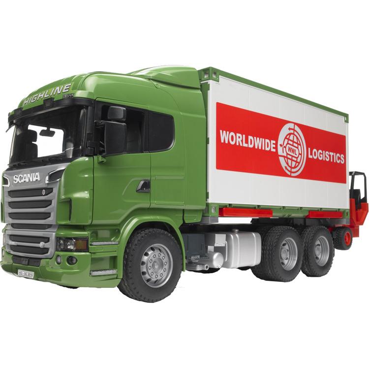 Scania R-Serie Vrachtwagen met container