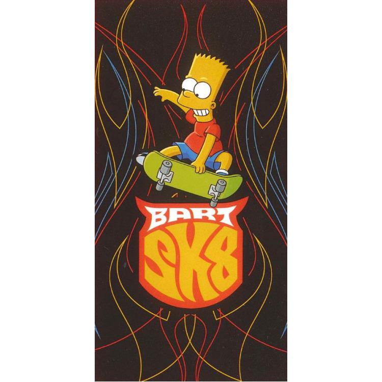 Image of Badlaken Simpsons SK8: 70x140 cm