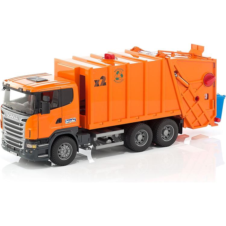 Image of Bruder 3560 Vrachtwagen Vuilnisauto Scania