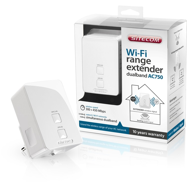 WLX 5100 Wi Fi Range Extender