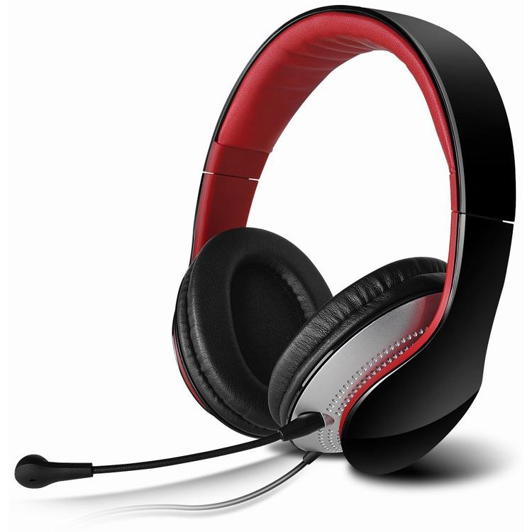 Edifier K830 - Communicator Over-Ear - Hoofdtelefoon - Zwart/Rood
