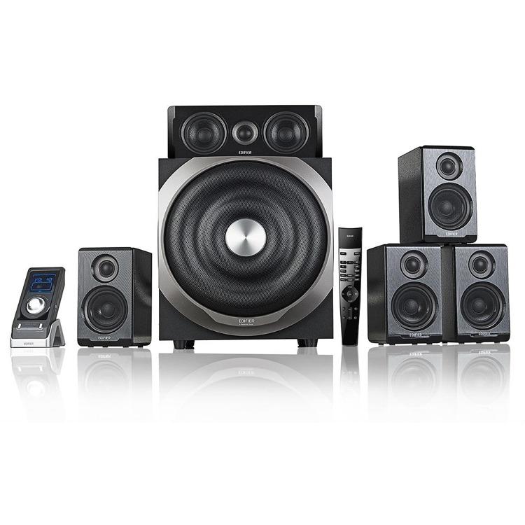 Edifier S760D - 5.1 Speakerset - Zwart
