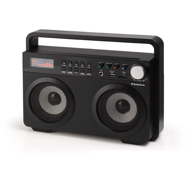 AudioSonic RD-1557 - Draagbare radio - Zwart