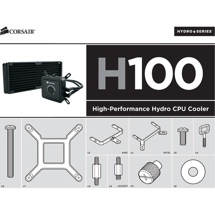 H60/h80/h100 Bracket Kit