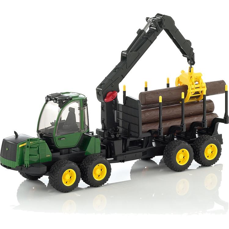 John Deere 1210e Houttransport Tractor