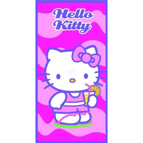 Image of Badlaken Hello Kitty drink: 70x140 cm