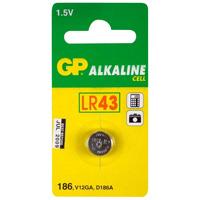 GP Alkaline knoopcel 186 (V12GA / L 1142). blister 1