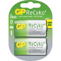 ReCyko+ D-batterijen