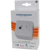 Signal acquisition point, single hole wall socket