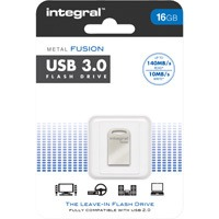 Integral 16GB USB3.0 Metal Fusion USB Stick