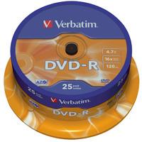 Verbatim DVD-R 43522 4.7 GB 120 min. 25 Stuks