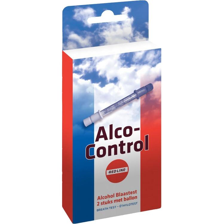 Image of Alco-Control Alcohol Blaastest (2 Testen)