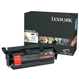 Lexmark T650A21E - Tonercartridge Zwart