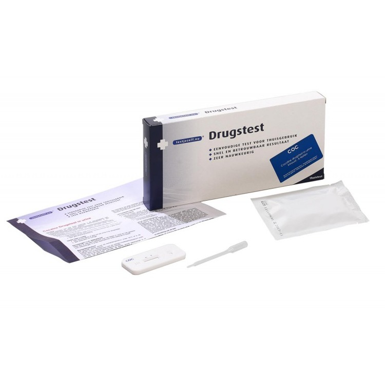 Image of Drugstest Cocaïne, 6 Stuks