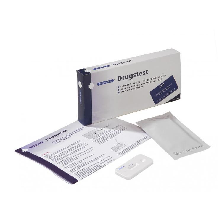 Image of Drugstest Cotinine (Nicotine), 6 Stuks