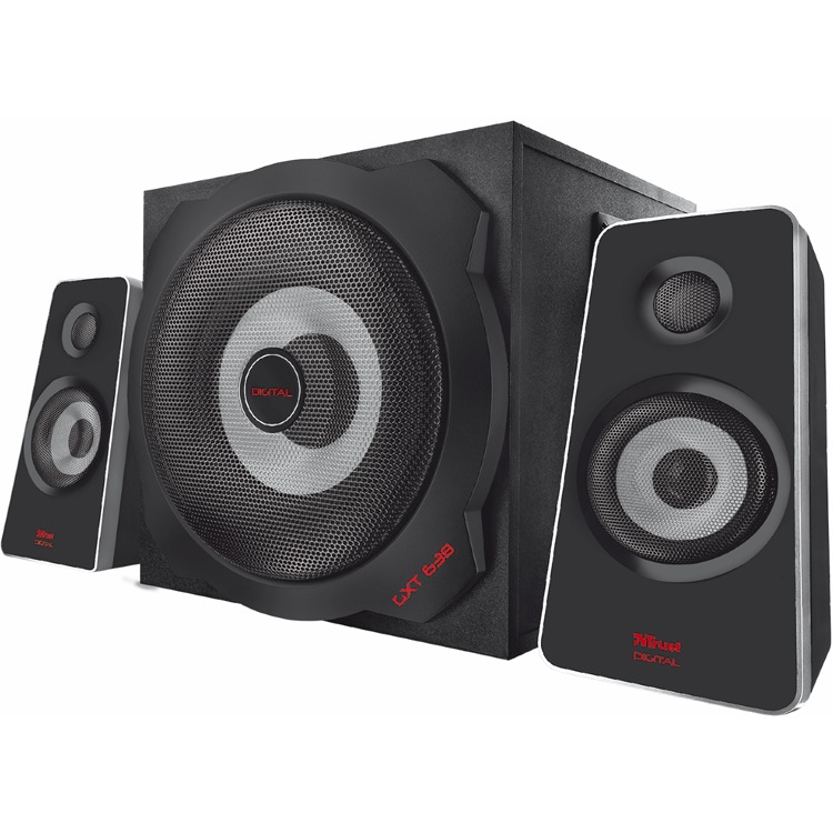 Trust, Gxt 638 Digital Gaming Speaker 2.1 (pc / Ps3 / Ps4 / Xbox 360 / Xbox One / Smartphone / Tablet) -