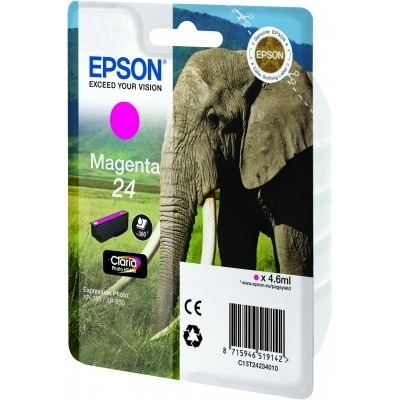 Epson 24 Inktcartridge Magenta
