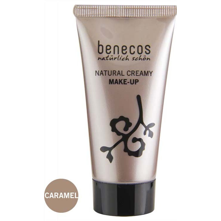 Image of Natural Creamy Make-Up Foundation Caramel