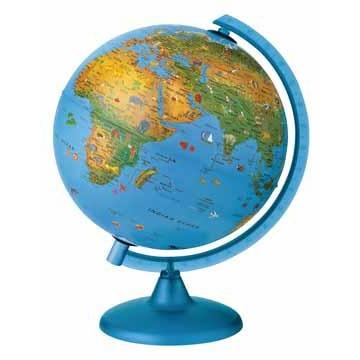 Image of Arac Globe Arca: 25 Cm Met Verlichting