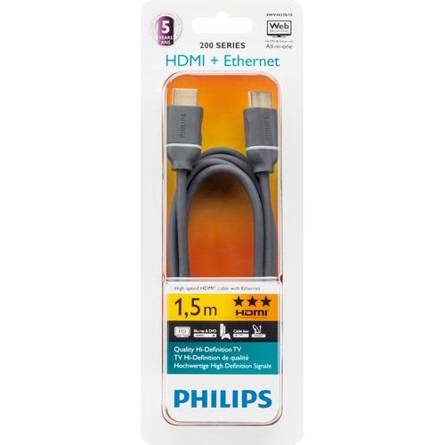 Philips SWV4432S/10 - HDMI-kabel - 1.5 meter / Grijs