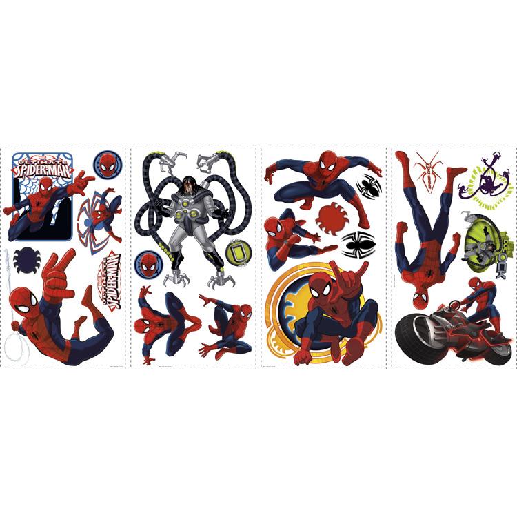 Marvel RoomMates Muursticker Ultimate Spider-Man - Multi