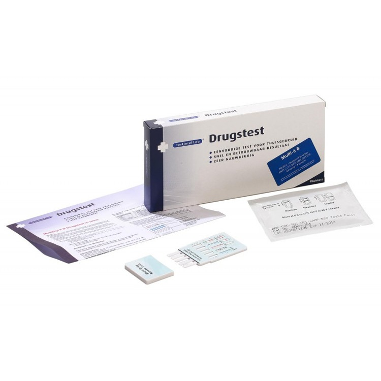 Image of Drugstest Multi- 6 B (4 Testen)