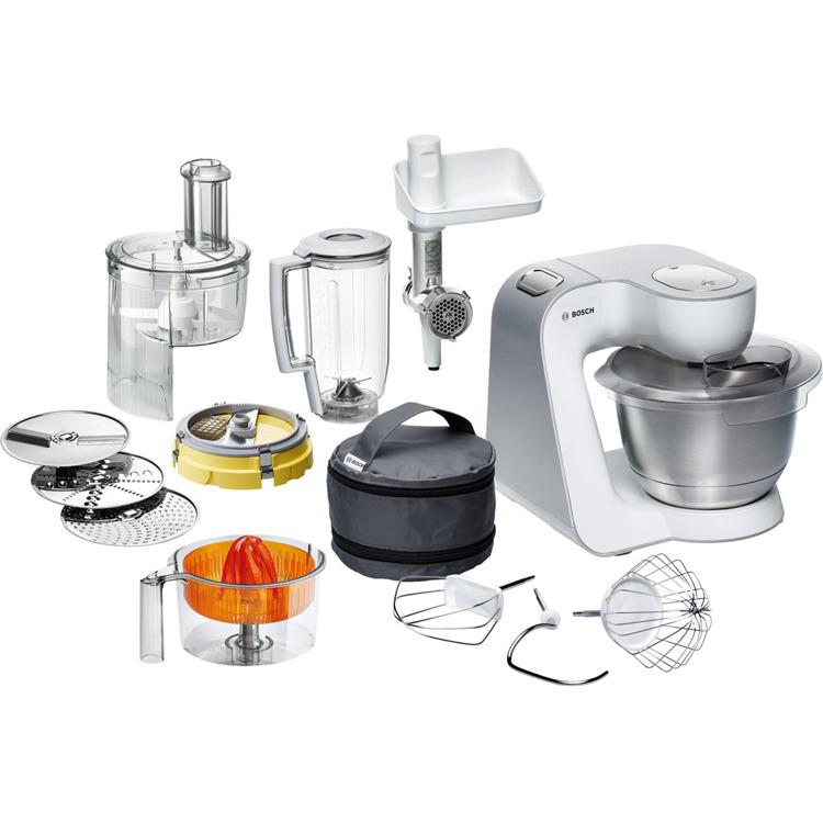 Bosch keukenmachine Styline MUM54251, met blokjessnijder