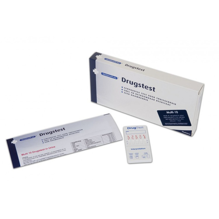 Image of Drugstest Multi- 10 (1 Test)