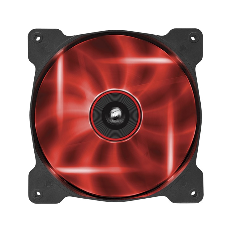 Fan Sp140 Rd Led140x140x25