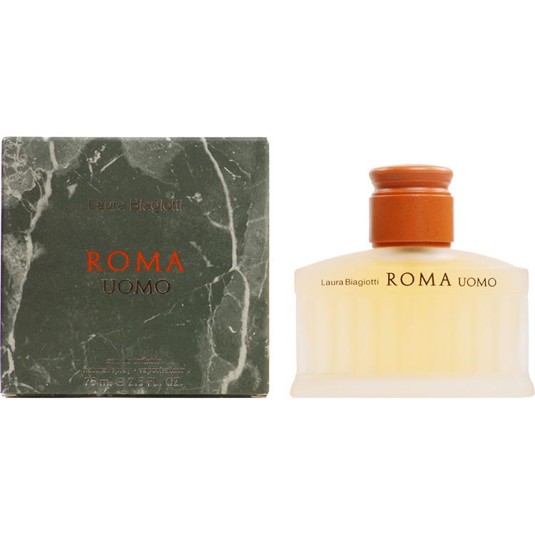 Laura Biagiotti Roma Uomo Eau De Toilette Natural Spray 75ml