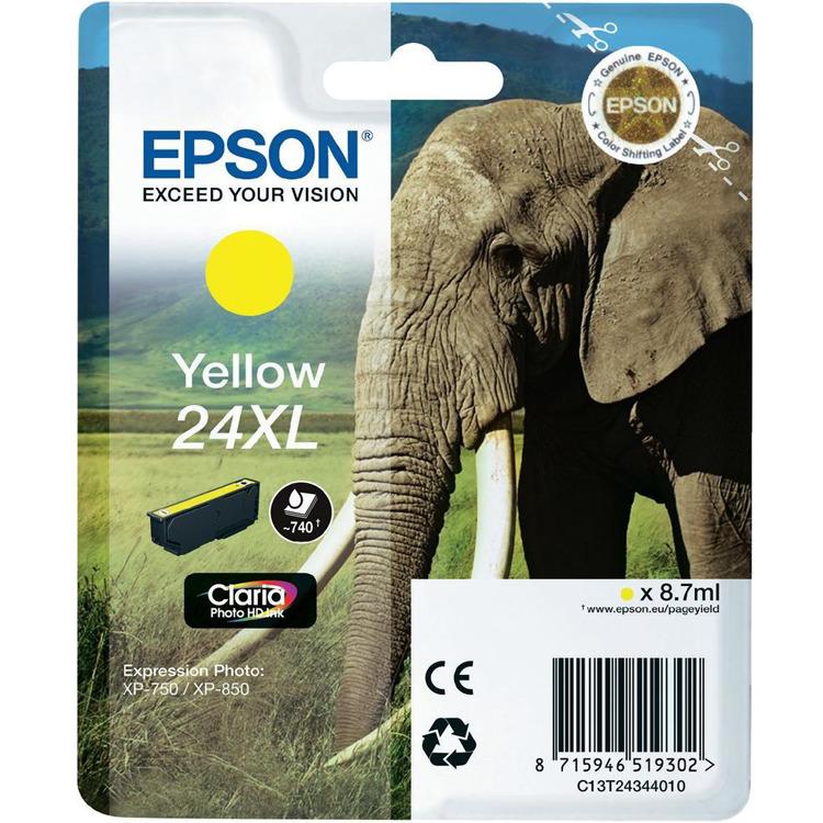 Epson 24 XL Inktcartridge Geel