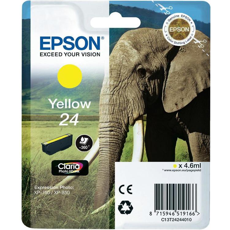 Epson 24 Inktcartridge Geel