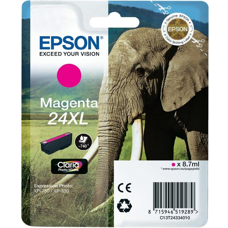 Epson 24 XL Inktcartridge Magenta