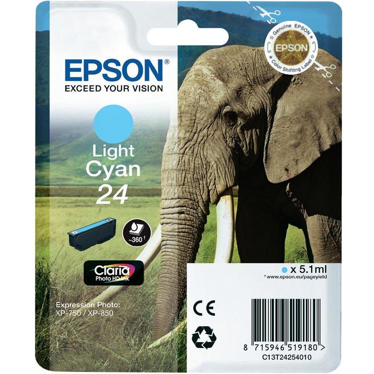 Epson 24 Inktcartridge Licht Cyaan