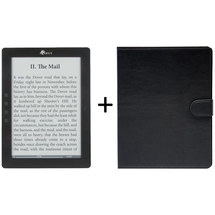 ICARUS eXceL 9.7i e-reader (Android) bundel met zwarte hoes C007BK