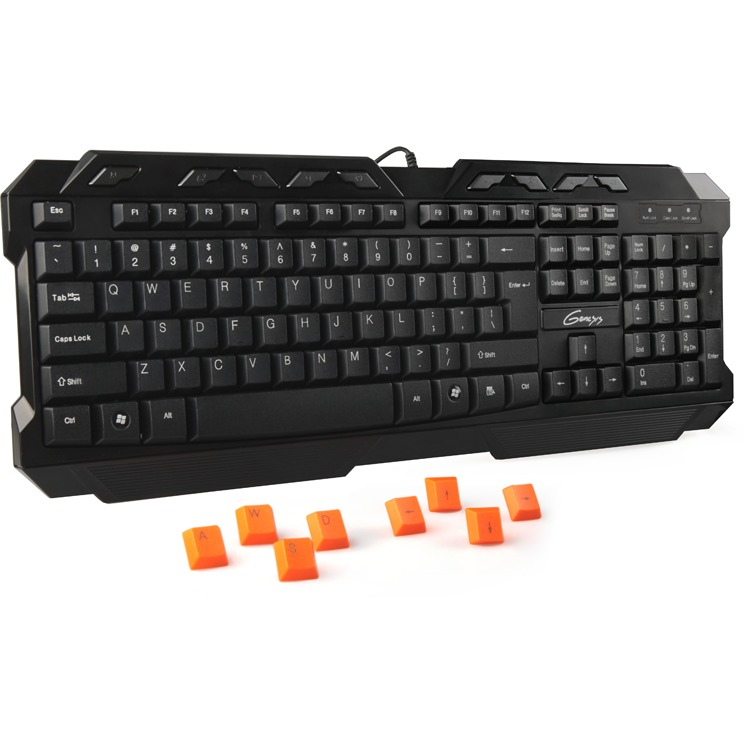 Genesis R33 Qwerty Gaming Toetsenbord - Zwart (PC)